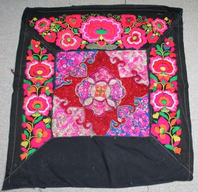 Textiles Textiles Textiles - Hmong porte-bébé / Hmong / tissu Miao / panneaux de broderie Hmong - 610 1e6154