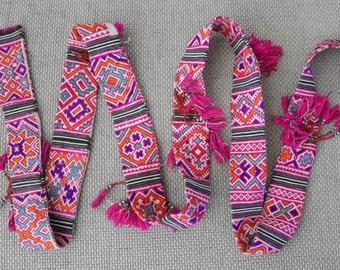 Textiles -  Ethnic / tribe / Hmong / Miao fabric - 7029