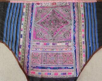 Textiles -  Hmong Baby Carrier/ Hmong / Miao fabric - 7033