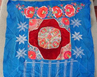 Textiles -  Hmong Baby Carrier/ Hmong / Miao fabric - 7008