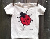 Ladybug Organic Child Short Sleeve Tee 2, 4, 6, 8, 10, 12