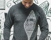 Antique Snowshoe Crewneck sweatshirt
