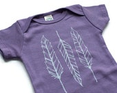 New Baby Gift Feather Baby bodysuit baby shower coming home outfit  baby clothes