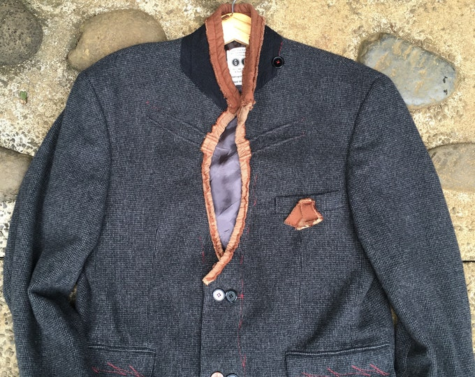 Reconstructed mens jacket-medium 41