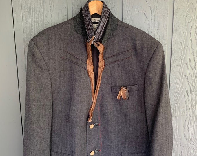 Reconstructed mens jacket(SALE)- EX LARge 48