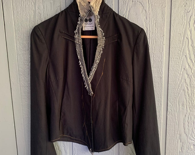 Reconstructed WOMENS jacket(SALE)- MEdium