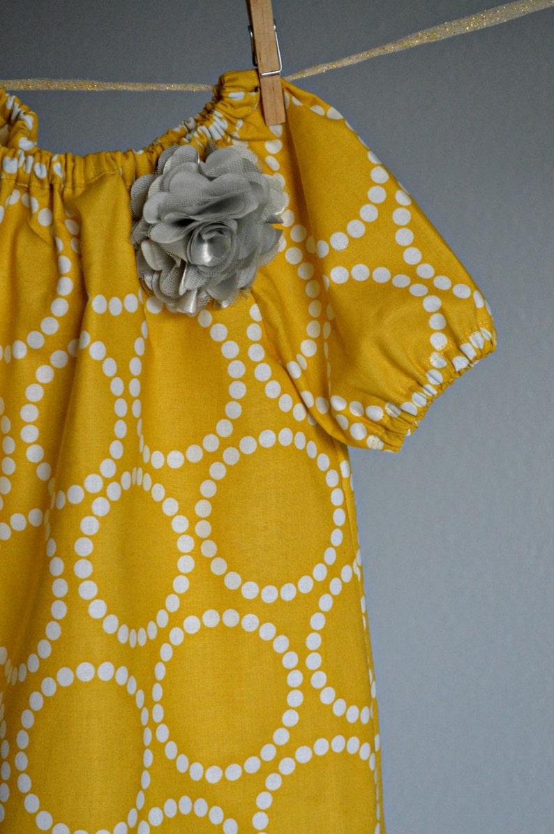 789d8b604d Dress Spring mustard yellow baby girl toddler outfit sunshine birthday grey  phot... Dress Spring mustard yellow baby girl toddler outfit sunshine  birthday ...