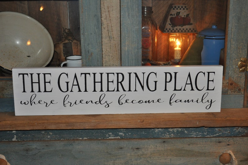 Primitive font Stencil Gathering Room Country Family Home Decor Signs You Paint