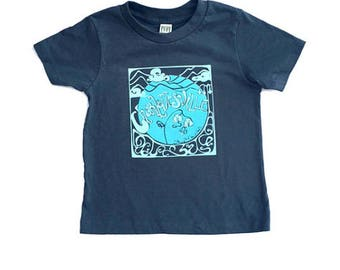Charlottesville Grow Your Own Roots Toddler shirt