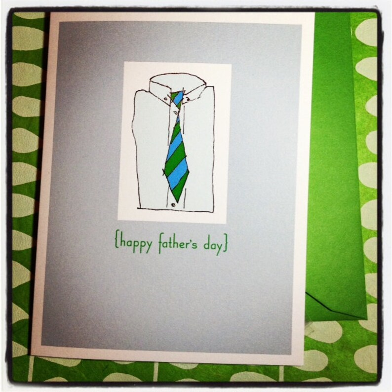 Father's Day single card  Happy father's day image 0