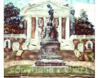 Polaroid manipulation of the Rotunda 7x7