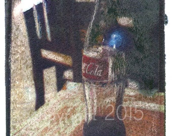 Polaroid transfer - Mexican Coca-Cola