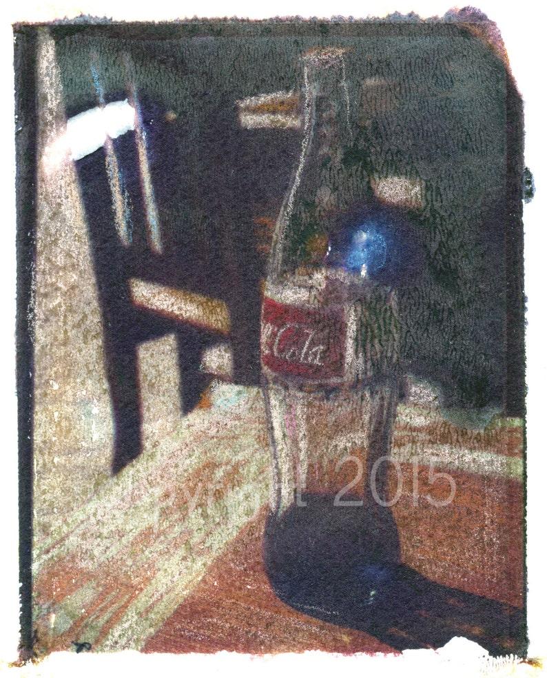 Polaroid transfer  Mexican Coca-Cola image 0