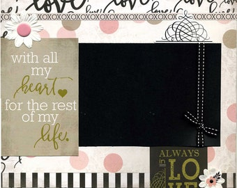 Always In Love - Premade Scrapbook Page
