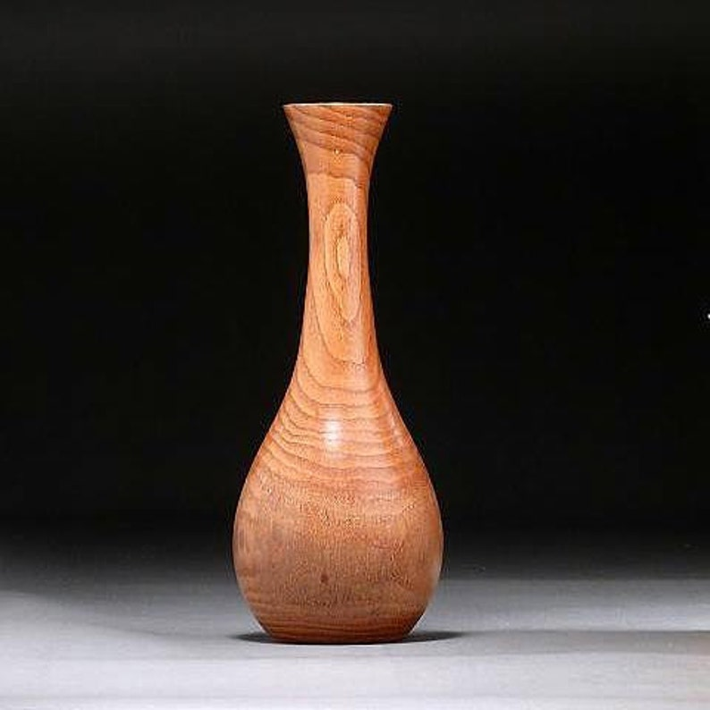 Wooden Vase Oriental Bittersweet Vine Weed Pot BSW97 image 0