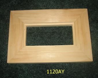 16x20 10x20 11x14 22x28 12x12 BarnwoodUSA Signature Reclaimed Wood Float Frame 5x7 24x36 100/% Genuine Reclaimed Wood 18x24