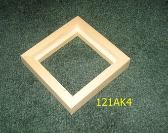 Float frame for 4x4 canvas
