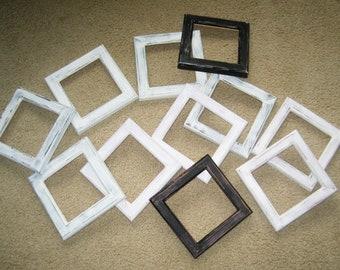 Lizzie Kate'Year of Stamps or Blocks' Flip-It frames