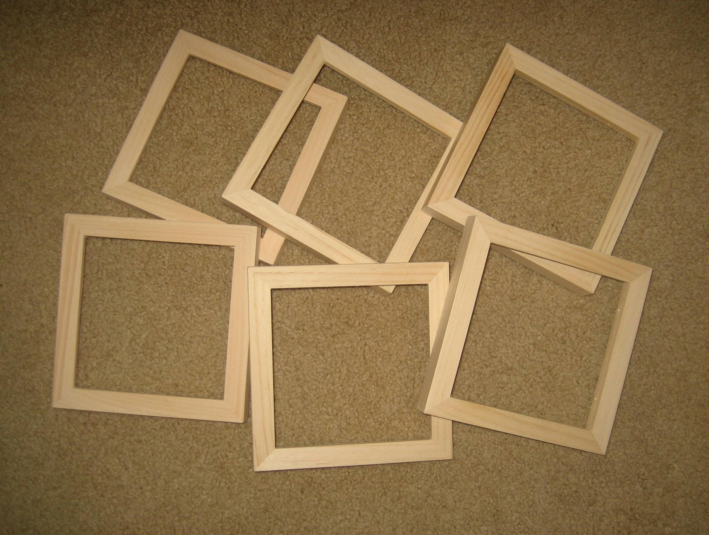 6 Tiefe Falzfräser 6 x 6-Bilderrahmen für Leinwände