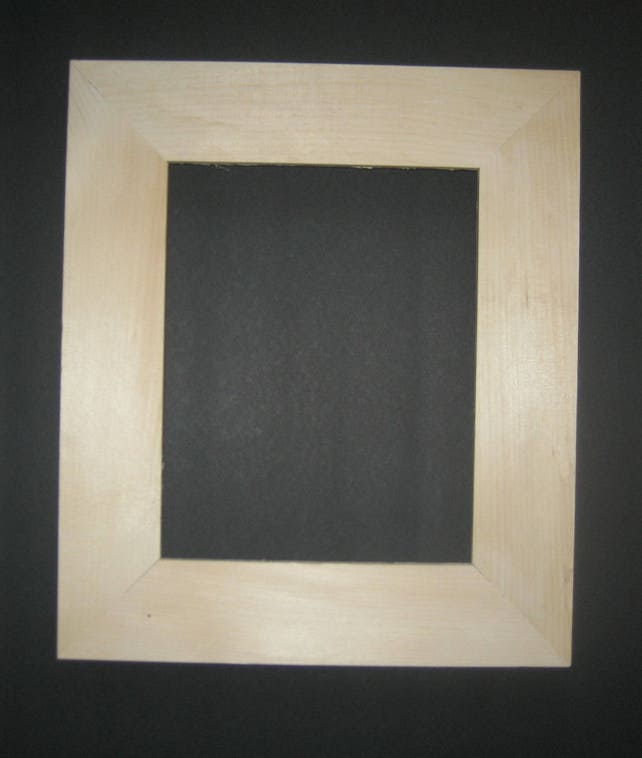 Picture Frame 8x10 Thick Wide With Deep Rabbet Unfinished Etsy