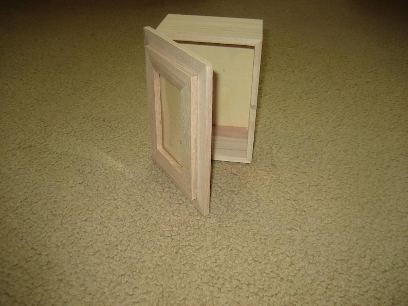 Memory box unfinished