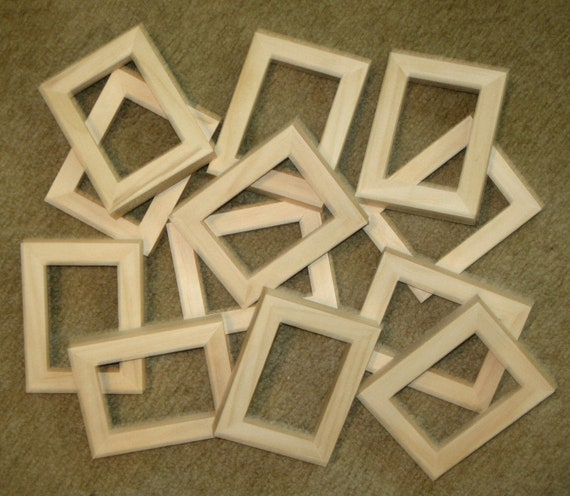 Aceo Picture Frames 12 Unfinished In 25 X 35 Size Etsy