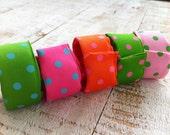 Items similar to Super Fun Grosgrain Slapper Bracelets ...