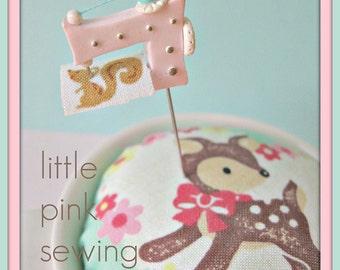 Little Pink Sewing Machine
