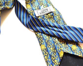 40e53b5b9b05 Gianni Versace tie Medusa Head Barocco necktie