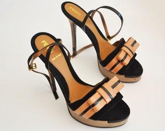7423f0168bde Fendi shoes- Vintage Platform Sandals