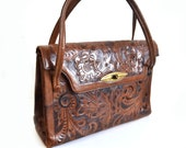 El Corzo Hand tooled leather bag