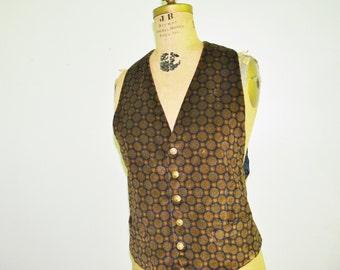 Vintage KENZO  Velvet Vest