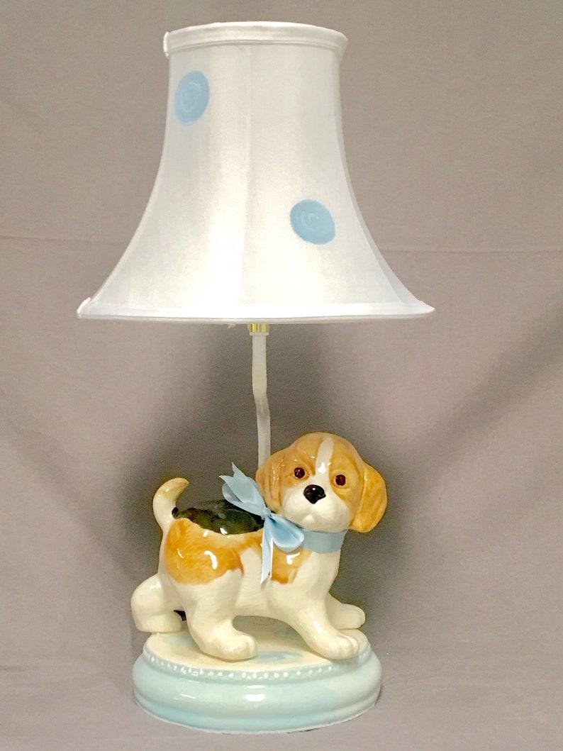 Puppy Dog Lamp Childu0027s Lamp Kids Room Lighting | Etsy
