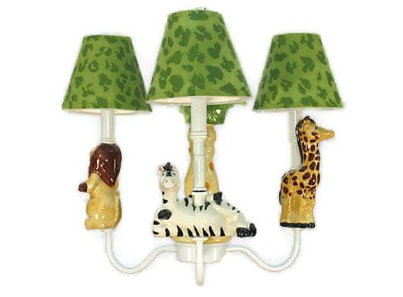 Safari Amis Re Jungle, Jungle Lamp Nursery