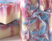 Stars and Stripes Soap  - Hurray for the Red, White and Blue