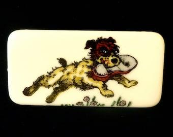 Jack Russell Terrier Brooch