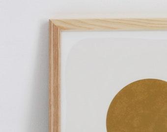 Add Wood Frame To Your Art Print   Framed Art   Natural Wood Frame   Picture Frame   Modern Frame   5x7 Frame   8x10 Frame   11x14 Frame
