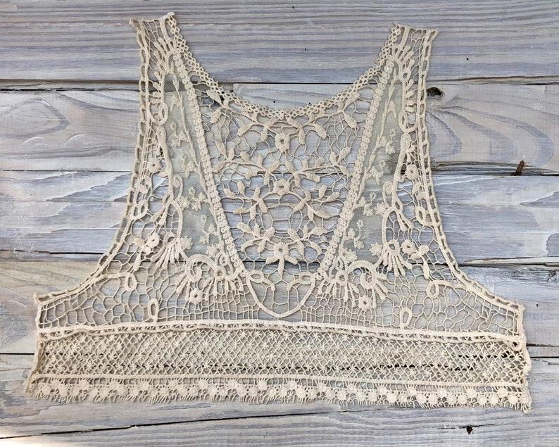 Beautiful lace purple modesty panel