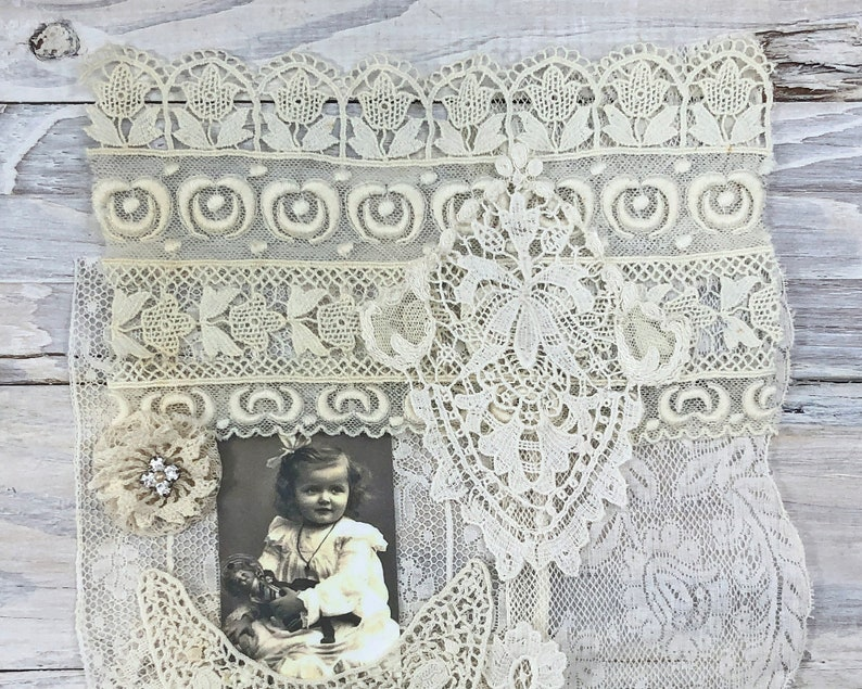 ALC2105 Antique /& Vintage Lace Collection with Fabric Image .. For CollageJournalsCrazy QuiltingScrapbookingCardsTagsSewing Supply