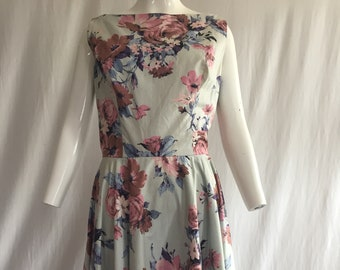 1950's Perfect Garden Party Dress