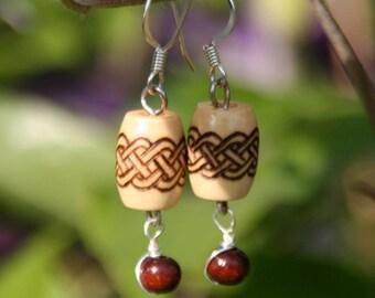Celtic Knot Earrings - Isabella