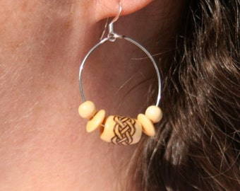 Celtic Knot Earrings - Caitlin