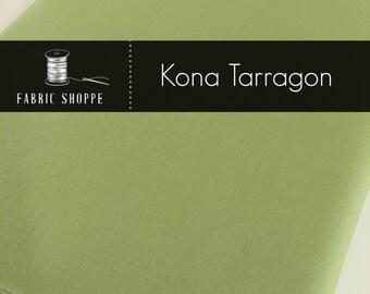 Kona solid fabric, quilt fabric, Kona TARRAGON 316, Kona fabric, Solid fabric Yardage, Kaufman, Green fabric, Choose the cut