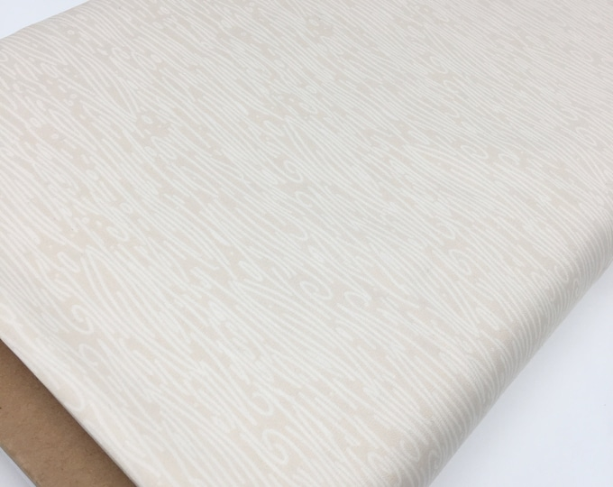 Woodgrain fabric, Woodland Quilt, Hello Bear fabric, Art Gallery Fabrics, Wildwood in Birch (beige), You Choose the Cut