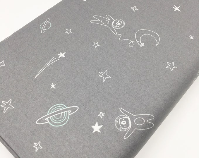 Planet Decor Nursery, Space, Neutral Nursery, Baby Shower Gift, Stargazer, Baby Quilt, Art Gallery- To Bearfinity, choose the cut