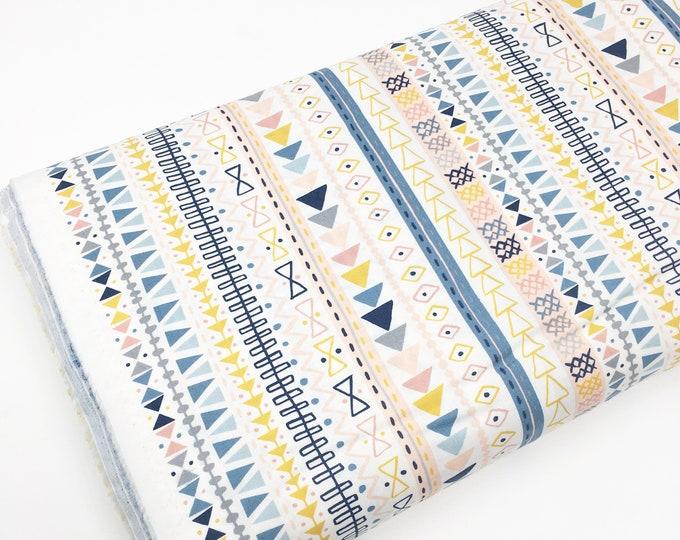 Wild and Free fabric, Cute animal, Tee Pee, Clouds, Nursery, Baby fabric, Boy Girl, Woodland, Choose the cuts