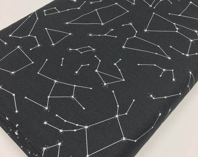Planet Decor, Space, Neutral Nursery, Baby Shower Gift, Baby Quilt, Art Gallery, Stargazer Connect the Stars, choose the cut