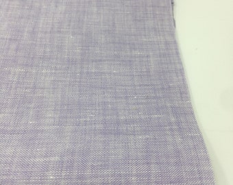 Linen Fabric, 100 % Natural Linen Fabric, Linen by the Yard, Soft Linen, Pure Linen, Linen Bedding fabric, Limerick Linen in Lavender