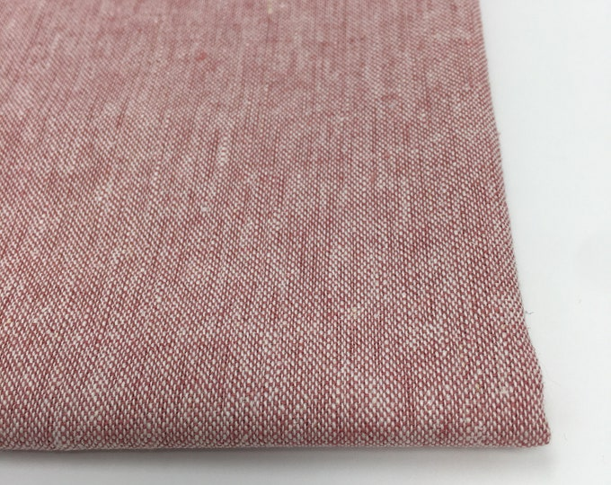 SALE fabric, Essex Linen, Essex Yarn Dyed, Apparel Fabric, Cotton fabric, Pink Fabric, Linen fabric, Robert Kaufman, Essex in Berry