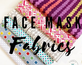 Cotton Fabric Scraps, Homemade Face Mask Fabric, 100% cotton fabric, Large Pieces perfect for your Best Face Mask Project for kid or adult